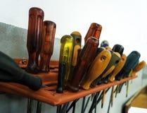 Outils dans l'atelier photo libre de droits