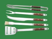 Outils de barbecue Photo stock