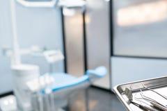 Outils de base de dentiste images stock