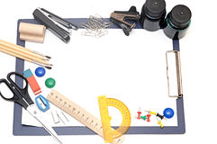Outils de bureau Photo stock