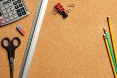 outils de bureau Images stock
