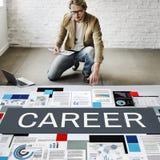 Outils de carrière recrutant le concept de profession photos libres de droits