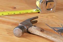 Outils de construction Images libres de droits