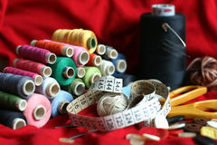 Outils de couture Photo libre de droits