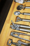 Outils de cuisine photo stock