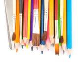 Outils de dessin Photographie stock libre de droits