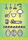 Outils de jardin Images libres de droits