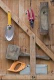 Outils de jardin Images stock