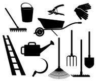Outils de jardin Image stock