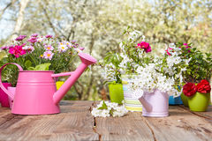 Outils de jardinage extérieurs Image stock