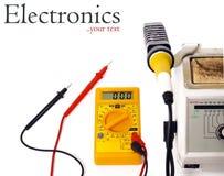 Outils de l'électronique DIY images stock