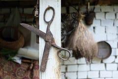 Outils de la vie rurale photos stock
