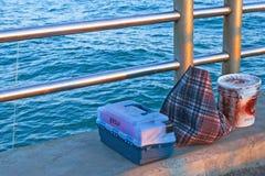 Outils de pêche Photographie stock libre de droits