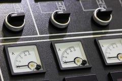 outils de panneau de management de machine d'entrée digitale de dispositif de paramètres photographie stock libre de droits