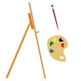 outils de peintre Photo libre de droits