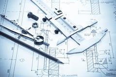 outils de plan Images stock