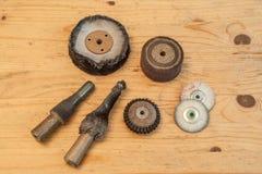 Outils de polissage 2 photo stock