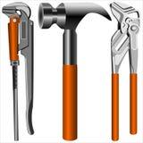Outils de serrurier illustration de vecteur