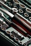 Outils de service et ensembles automatiques de rochet Photographie stock libre de droits
