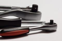 Outils de service et ensembles automatiques de rochet Photo libre de droits