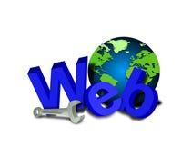 Outils de site Web Photo libre de droits