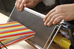 Outils de tisserand photos stock