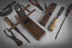 outils de travail Image stock