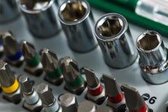 Outils de travail en métal, métal ouvré image stock
