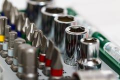 Outils de travail en métal, métal ouvré Images stock