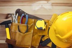 Outils de travail sur le bois Photo stock