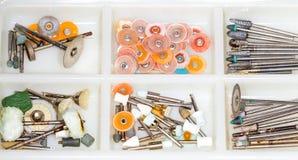 Outils dentaires Photographie stock libre de droits