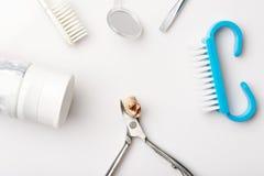 Outils dentaires avec des dents images libres de droits