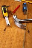 Outils du `s de charpentier Image libre de droits