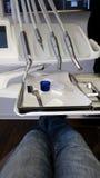 Outils en art dentaire moderne Photo stock