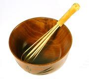 Outils en bois de thé Photographie stock