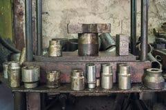 Outils en métal photographie stock