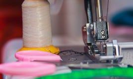 Outils et accessoires du ` s de tailleur Photos libres de droits