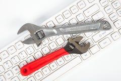 Outils et clavier Photos libres de droits