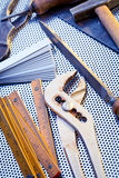 Outils et instruments Image stock