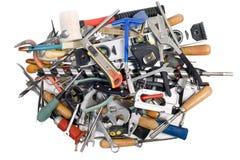 Outils et le matériel de protection Photo libre de droits