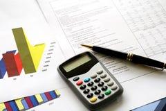 Outils financiers Photo libre de droits