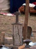 Outils médiévaux Images stock