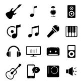 Outils musicaux illustration stock