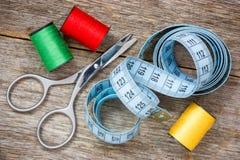 Outils pour la couture Images stock
