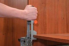 Outils pour la fabrication des meubles Images stock