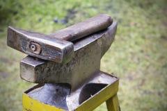 Outils pour le forgeron Photos stock