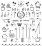 Outils pour le jardinage Images stock