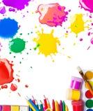 Outils pour le travail créatif Image stock