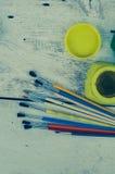Outils pour le travail créatif Images stock