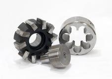outils réglés en métal de découpage Photo libre de droits